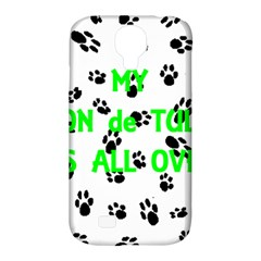My Coton Walks On Me Samsung Galaxy S4 Classic Hardshell Case (pc+silicone)