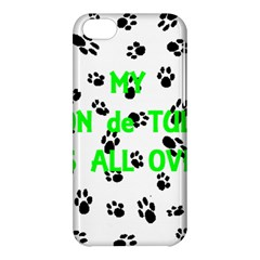 My Coton Walks On Me Apple Iphone 5c Hardshell Case