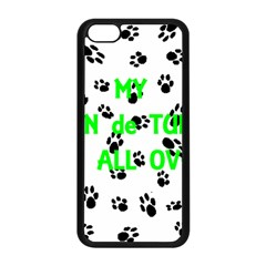 My Coton Walks On Me Apple Iphone 5c Seamless Case (black)