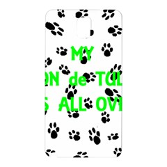 My Coton Walks On Me Samsung Galaxy Note 3 N9005 Hardshell Back Case