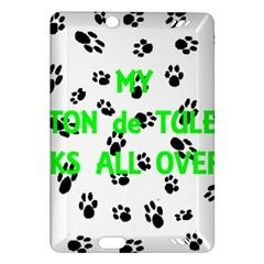My Coton Walks On Me Amazon Kindle Fire Hd (2013) Hardshell Case