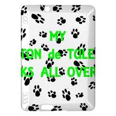 My Coton Walks On Me Kindle Fire Hdx Hardshell Case