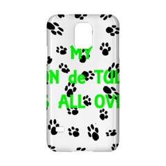 My Coton Walks On Me Samsung Galaxy S5 Hardshell Case