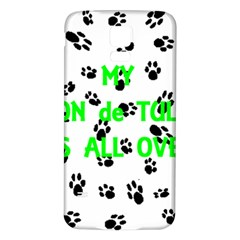 My Coton Walks On Me Samsung Galaxy S5 Back Case (white)