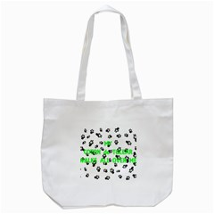 My Coton Walks On Me Tote Bag (white)