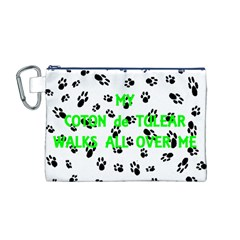 My Coton Walks On Me Canvas Cosmetic Bag (m)