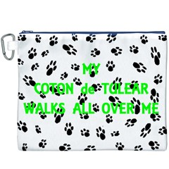 My Coton Walks On Me Canvas Cosmetic Bag (xxxl)
