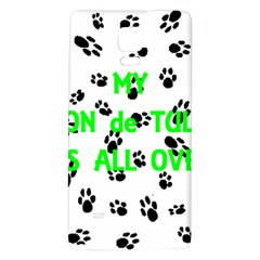 My Coton Walks On Me Galaxy Note 4 Back Case