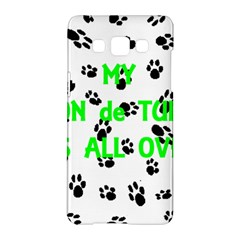 My Coton Walks On Me Samsung Galaxy A5 Hardshell Case