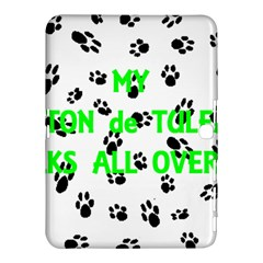 My Coton Walks On Me Samsung Galaxy Tab 4 (10 1 ) Hardshell Case