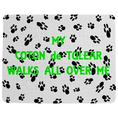 My Coton Walks On Me Jigsaw Puzzle Photo Stand (rectangular)