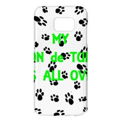 My Coton Walks On Me Samsung Galaxy S7 Edge Hardshell Case