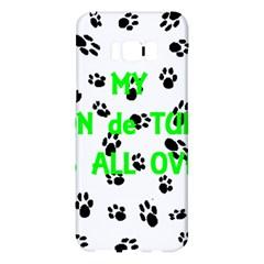 My Coton Walks On Me Samsung Galaxy S8 Plus Hardshell Case