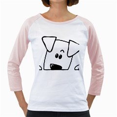 Peeping Coton Girly Raglans