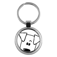 Peeping Coton Key Chains (round)