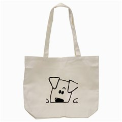 Peeping Coton Tote Bag (cream)