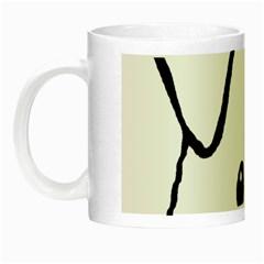 Peeping Coton Night Luminous Mugs