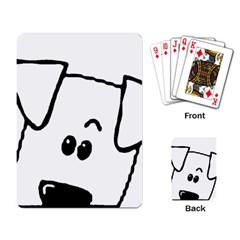 Peeping Coton Playing Card