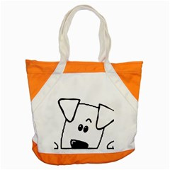 Peeping Coton Accent Tote Bag