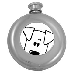 Peeping Coton Round Hip Flask (5 Oz)
