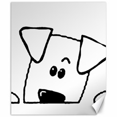 Peeping Coton Canvas 8  X 10