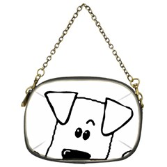Peeping Coton Chain Purses (one Side)