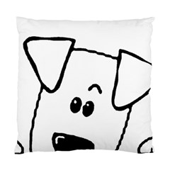 Peeping Coton Standard Cushion Case (one Side)