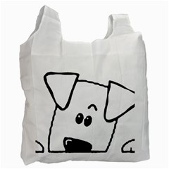 Peeping Coton Recycle Bag (one Side)
