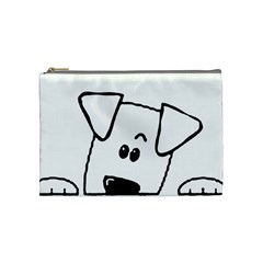 Peeping Coton Cosmetic Bag (medium)