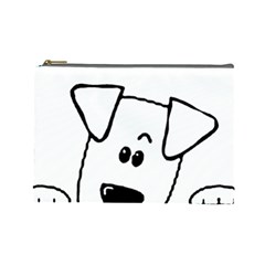 Peeping Coton Cosmetic Bag (large)