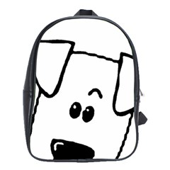 Peeping Coton School Bag (large)