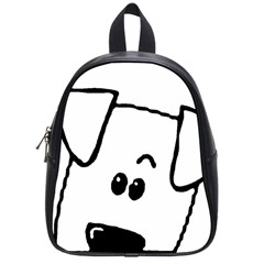 Peeping Coton School Bag (small)