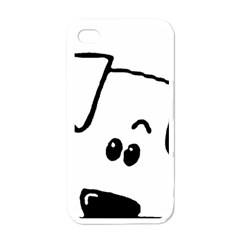 Peeping Coton Apple Iphone 4 Case (white)
