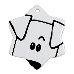 Peeping Coton Ornament (snowflake)