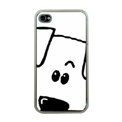 Peeping Coton Apple Iphone 4 Case (clear)