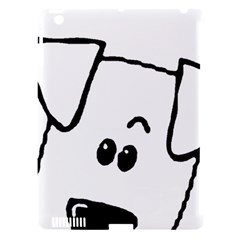 Peeping Coton Apple Ipad 3/4 Hardshell Case (compatible With Smart Cover)