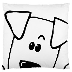 Peeping Coton Large Cushion Case (two Sides)