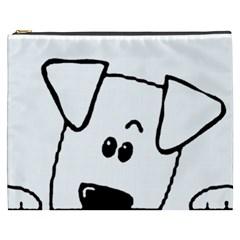 Peeping Coton Cosmetic Bag (xxxl)
