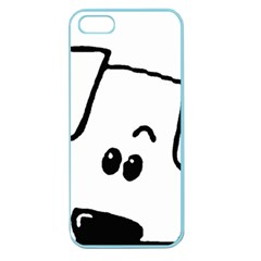 Peeping Coton Apple Seamless Iphone 5 Case (color)