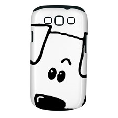Peeping Coton Samsung Galaxy S Iii Classic Hardshell Case (pc+silicone)
