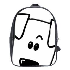 Peeping Coton School Bag (xl)