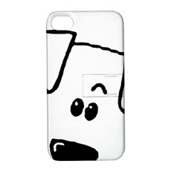 Peeping Coton Apple Iphone 4/4s Hardshell Case With Stand