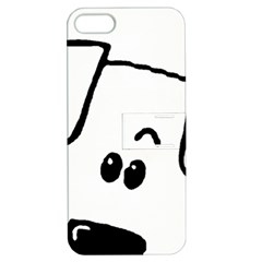 Peeping Coton Apple Iphone 5 Hardshell Case With Stand