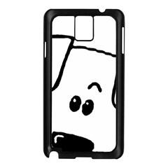 Peeping Coton Samsung Galaxy Note 3 N9005 Case (black)