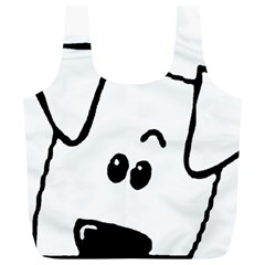Peeping Coton Full Print Recycle Bags (l)