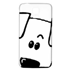 Peeping Coton Samsung Galaxy S5 Back Case (white)