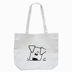 Peeping Coton Tote Bag (white)