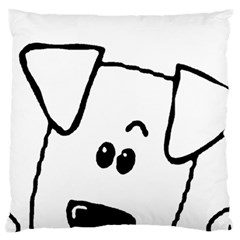 Peeping Coton Standard Flano Cushion Case (one Side)