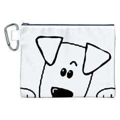 Peeping Coton Canvas Cosmetic Bag (xxl)