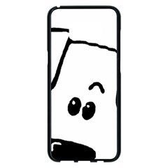 Peeping Coton Samsung Galaxy S8 Plus Black Seamless Case
